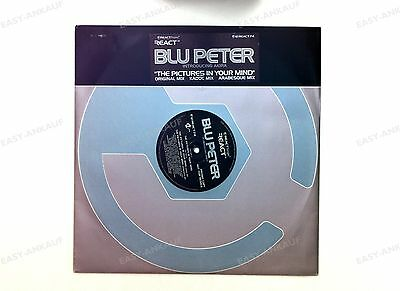 Blu Peter - The Pictures In Your Mind UK Maxi 1996 Promo //1