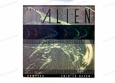 Complex - This Is Alien! GER Maxi 1992 //1