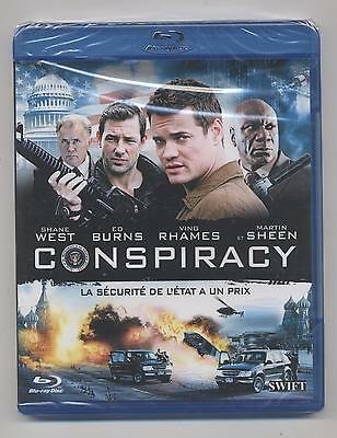 Neuf Blu Ray Conspiracy Sous Blister Shane West Ving Rhames  Thiller Action