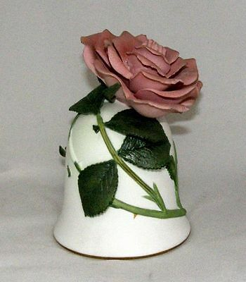 The Sonia Rose by Jeanne Holgate Bone China Bell 1983