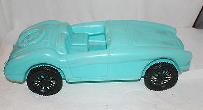 Vintage Turquoise Blue Renzi Sports Car Fits Barbie And Ken