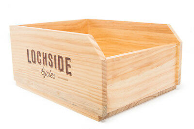 Urban Bicycle Crate - Weather Treated & Handmade | from Unified 4 Adventure
