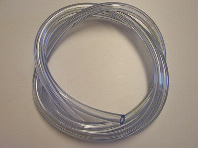 """Clear Beer and Gas Vinyl Hose 3/8"""" I.D."""