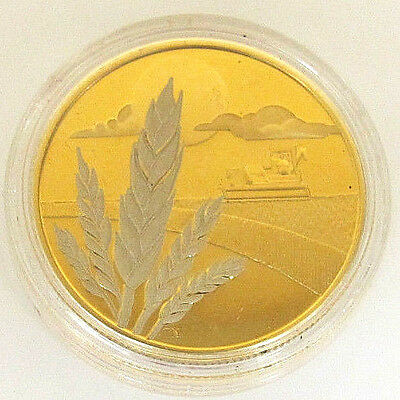 2003 Royal Canadian Mint $100 Gold 14K Marquis Wheat Coin