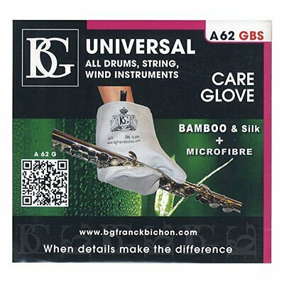 BG Microfiber + Bamboo/Silk Care Glove for All Instruments