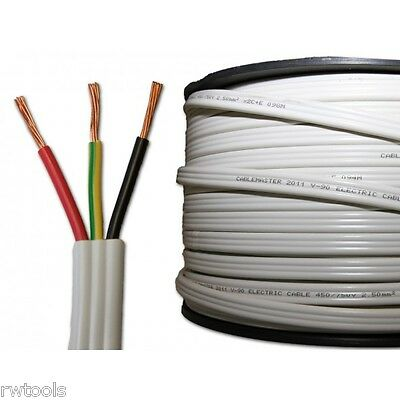ELECTRICAL CABLE TPS - 2.5mm TWIN + EARTH - 50m - ELECTRA CABLES
