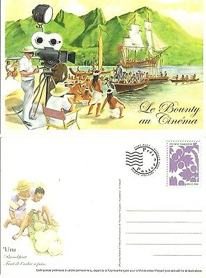French Polynesia  Ready To Post Card  The Bounty Mnh Or Cancelled As You Wish