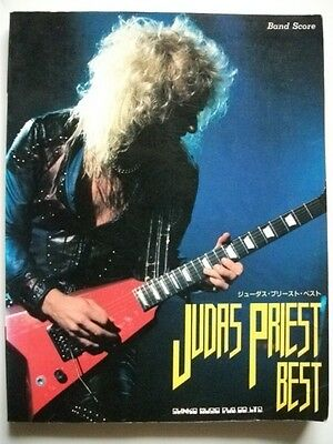 JUDAS PRIEST BEST JAPAN BAND SCORE GUITAR TAB Tablature