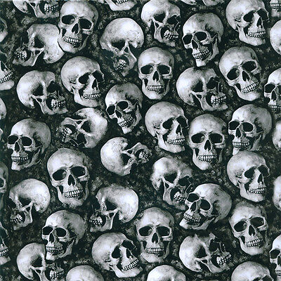 hydrographics Water Transfer Film 50cm x 50cm Large Skulls P&P in UK