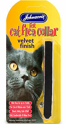 Johnson's Cat Flea Collar Velvet