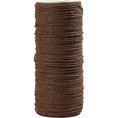 Paper Yarn, thickness 1,8 mm, L: 470 m, brown, 250g