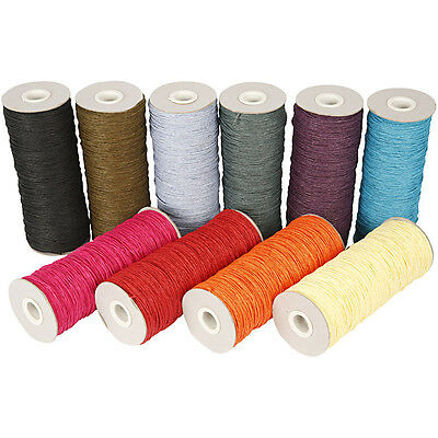 Paper Yarn - Assortment, thickness 1,8 mm, L: 470 mm, strong colours, 10x250g