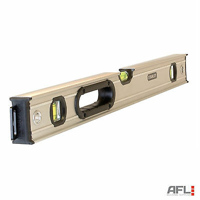 Stanley Fatmax 0-43-624 Pro Box Beam 3 Vial Spirit Level 60cm/600mm/24""