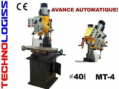 PERCEUSE FRAISEUSE CM4 persage max. 40 mm model ZX7040B Avance automatice !
