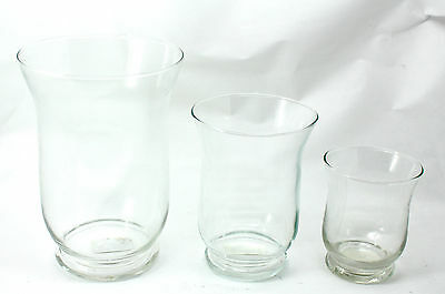 Set Of 3 Apothecary Jars Candy Lolly Buffet Glass Jar For Wedding/Party