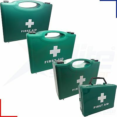 Empty First Aid Box Small, Standard, Medium or Large - Wall Bracket Option