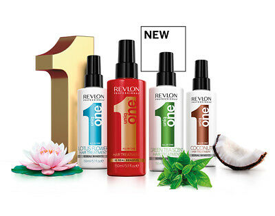 Revlon Uniq 1 All in One Hair Treatment 10 in 1 Spray150ml Choose your variant