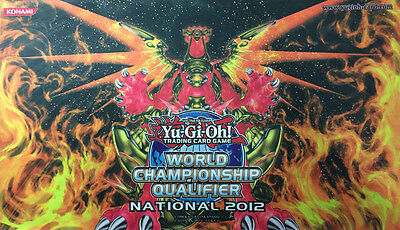 YuGiOh Hieratic Sun Dragon Overlord of Heliopolis National WCQ 2012 Playmat