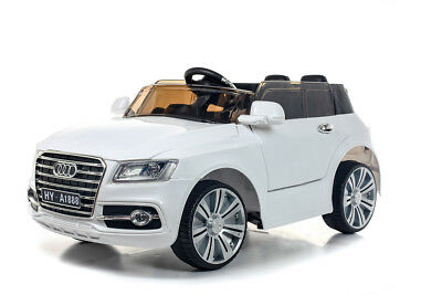 White Q7 SUV - 12V Kids' Electric Toy Ride On Car