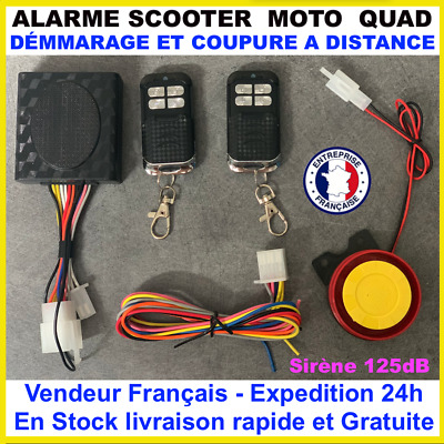 Alarme Beeper scooter, moto