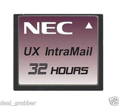 NEC UX5000 UX-IntraMail 4 port 32 hour ~ Stock# 0910515 ~ NEW
