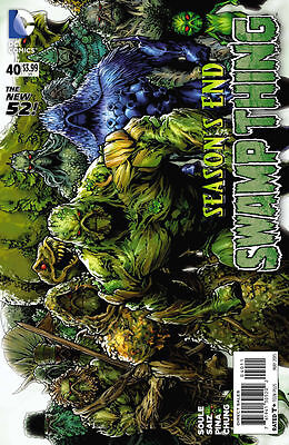 Swamp Thing #40 New 52 (2015)