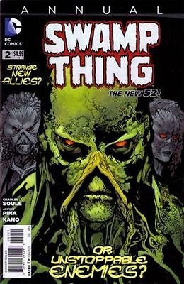 Swamp Thing Annual #2 New 52 (2016)
