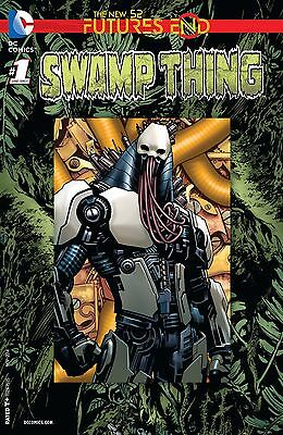 Swamp Thing Future's End #1 New 52 (2016) Lenticular Cover