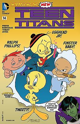 Teen Titans #14 (5th Series) Looney Tunes Variant