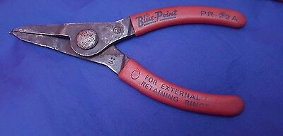 Blue-Point PR22A External Retaining Ring Pliers - Listing For One Only Z8