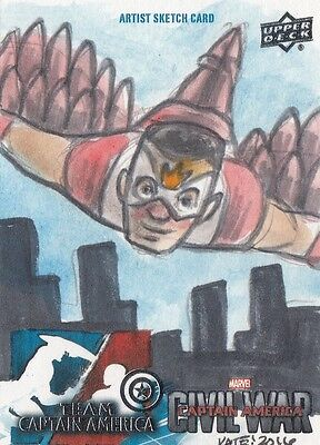 Captain America Civil War - Kate Carleton Sketch Card