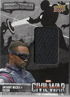 Captain America Civil War - Bb-Fa Falcon Broken Bonds Costume Card