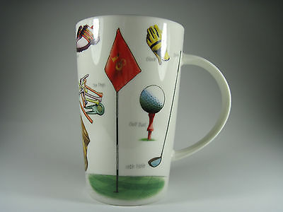 Kent Pottery Golf Mug Porcelain Excellent Condition