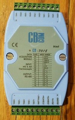 CB Com CB-7018 Data Acquisition Module 8 Channel Voltage and Thermocouple Input