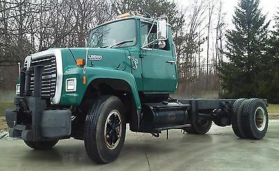 Genuine Ford L8000 Crane / Grapple / Wrecker / Plow Truck Dump Chassis