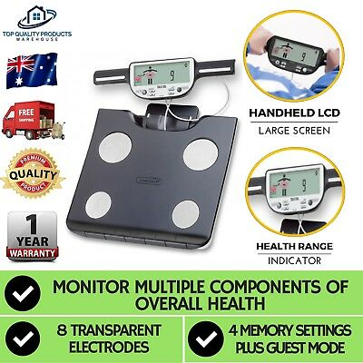 New Digital Body Fat Scale Bathroom Scales Weight Gym Water Glass LCD Electronic
