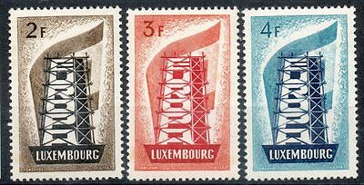 LUXEMBOURG  Neuf ** N° 514/516