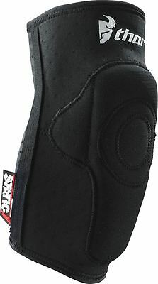 Thor S9 Static Motocross Elbow Guards Black MX/Enduro/Off-road/Quad/MTB/Trail