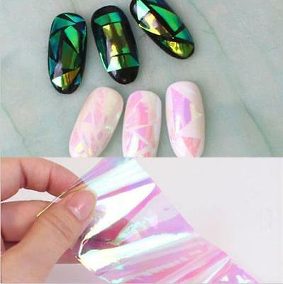 Nail Art Sticker Water Transfer Stickers 3D Decoration Flower Decals Tips