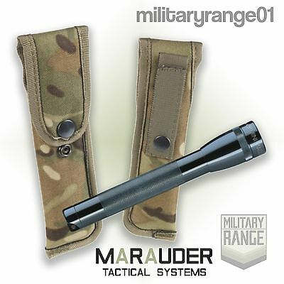 Marauder MTP Mini-Maglite Torch Pouch - MOLLE - British Army Military - UK Made