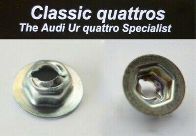 New Under Body Heat Shield Fixing Nut Audi Ur Quattro Turbo Coupe  N 038 602 1
