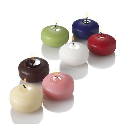 10 x Premium 5/6 Hour Wedding Decoration Floating Water Wax Tealight Candles
