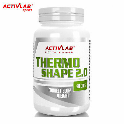 Thermo Shape 2.0 90-360Caps Thermogenic Fat Burner Weight Loss Management Pills