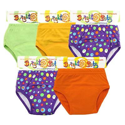 Bright Bots Potty Training Washable Pull Up Trainer Pants 5pk EXL Unisex - PUL