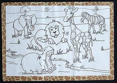 100 Pack Of Paper Placemats Jungle Design Free Shipping