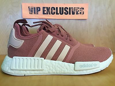 4343c0592 ADIDAS NMD R1 Runner Pink White Light Rose Nomad Mesh s76006 ...