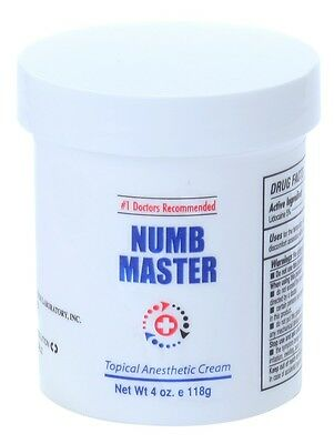 [4 oz] Numb Master 5% Lidocaine, Liposmal, fast penetration, Made in USA