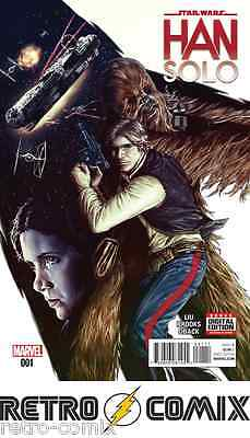 Marvel Star Wars Han Solo #1 First Print New/unread Bagged & Boarded