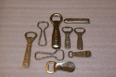 Lot of 9 Molson Canadian Beer Bottle Openers Pelissiers Riedles