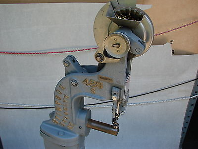 Stimpson 489 S Automatic Feed Machine A614 Eyelet Grommet W/ 135,000 Pcs. Brass